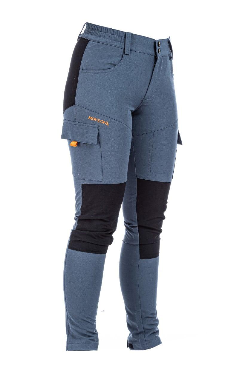 Aurland bukse dame grå/sort